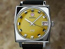 Rado 990 Swiss 1970s Automatic 31mm mid sized Stainless Steel Vintage Watch EX2