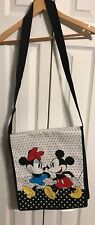 Recycled plastic Handbag with Mickey & Minnie Mouse NWOT