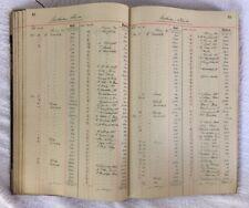 Altes Hauptbuch 1921 tolle Deko Kassenbuch Rarität Vintage shabby chic Buch