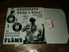 DESPERATE ROCK N ROLL / VOLUME ONE (19??) LP classic rock MEL SMITH, etc...