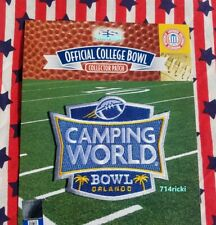Official 2019 Camping World Bowl Collectible Patch Notre Dame vs Iowa State