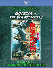 Godzilla Vs. the Sea Monster (Blu-ray Disc, 2014)