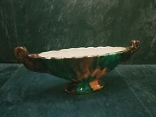 More details for vintage oldcourt ware twin handled  lusterware hand painted vase 10