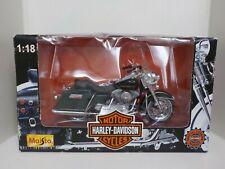 1997 Maisto Harley Davidson FLHR ROAD KING 1:18 Motorcycle NEW