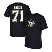 Evgeni Malkin Reebok Pittsburgh Penguins Premier Black Jersey T-Shirt Men's