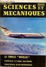Sciences et mécaniques n°270 - 1968 - La famille DOUGLAS - Electrophones -