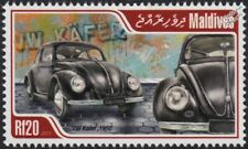 1950 VOLKSWAGEN VW Beetle Käfer Car Automobile Stamp (2013 Maldives)