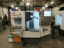 Haas Dm 2 Cnc Vertical Machining Center 4th Axis Drive Probing Coolant System