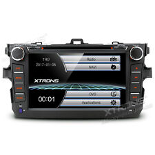 "8"" Touch Screen Car DVD GPS Stereo Radio Head Unit For 2007-2011 Toyota Corolla"