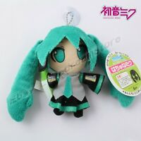 "Cute ! Hatsune Miku 10cm/4"" Suction Cup Wall Stuffed Doll Toy"