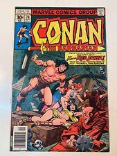 Conan the Barbarian #78 (9/77) F/VF (7.0) Red Sonja! Buscema! Great Bronze Age!