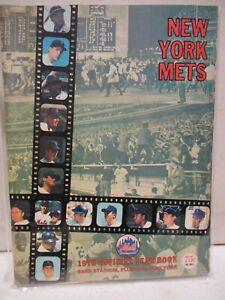1970 New York Mets Official Yearbook