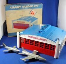 Plasticville - O-O27 - #AP-1 Airport Hanger w/Planes Complete - Box - Excellent