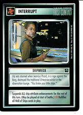STAR TREK CCG FIRST CONTACT RARE CARD SHIPWRECK