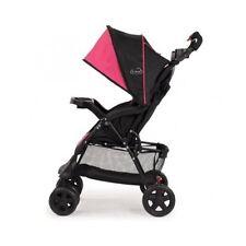 Girl's Pink Baby Stroller Single Infant Toddler Buggy Walk Lightweight Travel