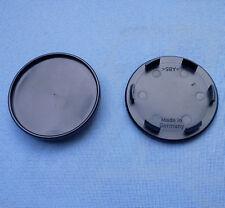 (45049) 2x Nabenkappen Nabendeckel Felgendeckel 65,0 / 56,5 mm schwarz