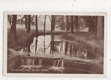 In Upton Lane Bexley Heath Kent Vintage Postcard Wheelers Library