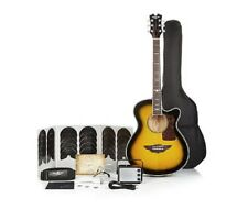 Keith Urban Acoustic Electric Guitar On Tour 40-pc Guitar Pkg Brazilian Burst (R