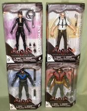 """Arkham Knight #5-8 7"""" Figure DC Collectibles ROBIN NIGHTWING CATWOMAN GORDON"""