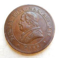 ITALIE - VATICAN  4 soldi 1866 R