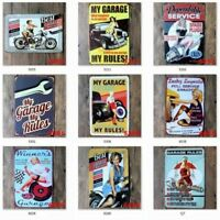 Retro Metal Tin Sign Wall Decoraton Iron Bar Plaque Pub Poster Home Shop 20*30cm