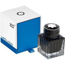 Montblanc tinta en el vidrio tintero/ink 30 ML, Lapis Lazuli, 119573, neu&ovp