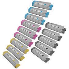 Toner Tap Compatible Bundle for Okidata C610 C610N C610DN C610CDN High Gloss