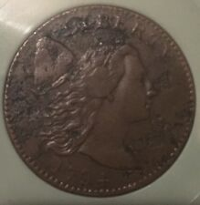 1794 Large Cent XF PLUS DETAILS AMAZING BID ROUGHLY $4000