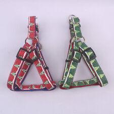 Brand New Nylon&Polyester harness for Small or Medium Pet Christmas Tree Logo