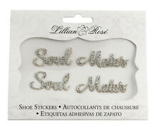 Soul Mates Shoe Stickers Wedding Supplies Wedding Shoes Stickers Bride Groom
