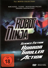 Robot Ninja , 100% uncut , DVD , new and sealed , Kult , Michael Todd