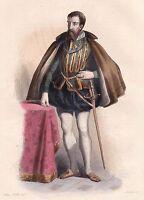 François Ier de Lorraine Duc de Guise Chambellan Prise Calais Guerre de Religion