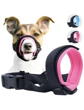 Lot Of 2 Soft Dog Muzzles Size Small Pink GoodBoy/Size #1 Black Silicone Basket