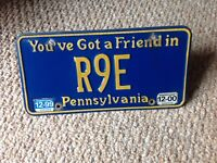 2000 Pennsylvania  license plate