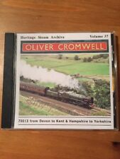 HERITAGE STEAM ARCHIVE - VOLUME 37- Oliver Cromwell - Train Steam Cd Rare