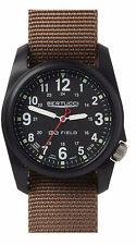 Bertucci Quartz Brown Strap / Black Dial Unisex Watch BT 11017