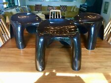 ~ARTEMIDE, EFEBINO STOOLS, by Stacy Dukes, c.1968 (SUPER RARE SET)~