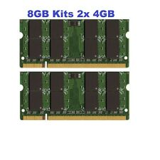8GB 2X 4GB Kit DDR2 SODIMM PC6400 PC2-6400 800 MHz LAPTOP MEMORY Ram 200Pin New
