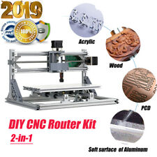 CNC3018 DIY CNC Router Kit 2-in-1 Mini Engraving Machine GRBL Control 3Axis V6H4