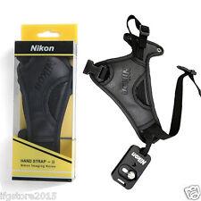 New Genuine Nikon Hand Strap II Nikon Hand Grip AH-4 W/ Plate for DSLR Camera