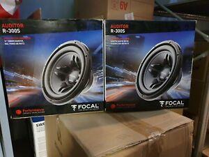 vend lot de 2 Subwoofer auditor focal r-300s  30cm