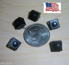 Mini Push Button 8.3mm On Off Switches Square (5) weatherproof 30v Ship from USA