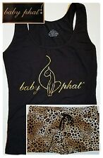 Baby Phat Plus Size Pajama Set 1X Womens Pajamas Sleep Shirt Lounge Bottoms NWT