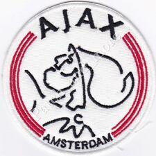 [Patch] AJAX CALCIO AMSTERDAM stemma diametro cm 8 toppa ricamo REPLICA -1028