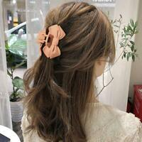 Women Fashion Large Hair Claw Crab Hairpin Acrylic Frosted Hair Clip Best Match