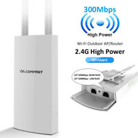 Outdoor Wireless AP Repeater High Power 300Mbps Wifi Range Extender CF-EW71 V2
