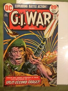 G.I. War Tales #3 FNVF Sept. 1973 DC Joe Kubert & Russ Heath art