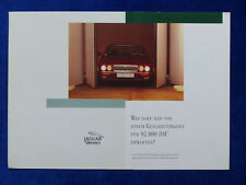 Jaguar XJ6 3.2 Executive - Jubiläums-Modell - Prospekt Brochure 1995