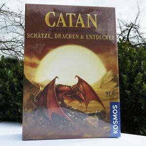 Siedler von Catan Schätze, Drachen & Entdecker Szenarien für Erweiterungen !!!