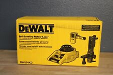 Dewalt Dw074kd 150 Ft Self Leveling Rotary Laser Level With Detector Amp Remote